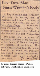 obit on William Poupard