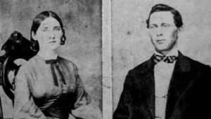 Lilly's Parents. James and Martha Bowers