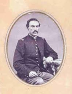 Major Joel Elliot was a former Toledo School Superintendent who joined Custer to fight Indians. He died at Washita River along with 18 soldiers, some from the Toledo area.