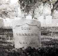 Grave at Ft. Gibson Oklahoma of unknown woman is believed to be Clara's resting place.