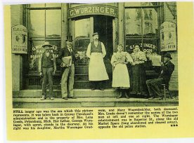 Wurzinger's Saloon at Washington and Superior