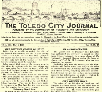 toledo city journal closing of tenderloin