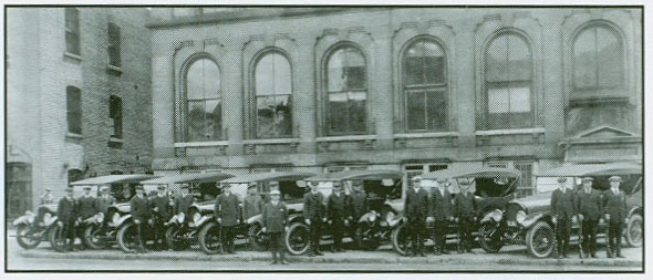 First New Cars 1922