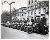 1950's Motorcycle Unit