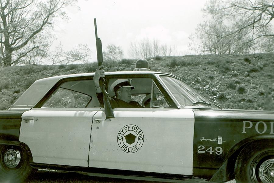 1960's Car Gun Training